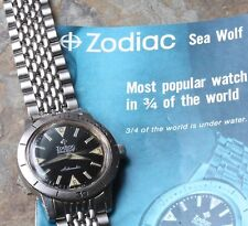 Vintage Beads of Rice watch bracelet with 11/16 ends Zodiac Sea Wolf compatible