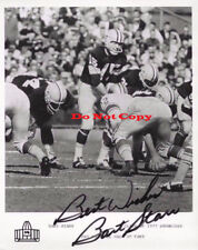 Bart Starr Green Bay Packers autographed 8x10 photo RP