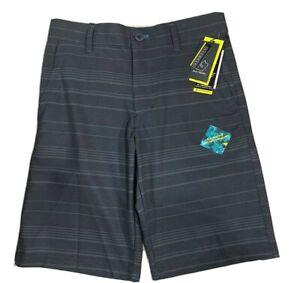 Burnside Boys Hybrid Shorts Gray Swimwear Swim Board Shorts Youth 14-16 (26)