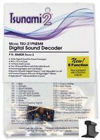 Soundtraxx 884808 Tsunami 2 TSU-21PNEM8 21 Pin Sound Decoder Steam-2 ~8 Function
