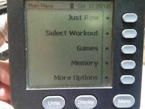 Concept2 Indoor Rower PM5 monitor GUC