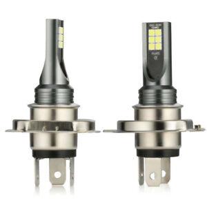 2x H4 LED 10000LM 6000K Super White Headlight Bulbs Conversion Kit Hi-Lo Beam