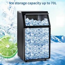 Built In Commercial Ice Maker Machine 100lbs24h Auto Clean Ice Cube Maker