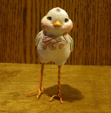 """Jim Shore Heartwood Creek Mini's 6003622 STANDING CHICK 3.75"""" From Retail Store"""
