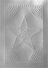 FURNITURE REPAIR   STAR SHAPED PIE SAFE TIN T2201