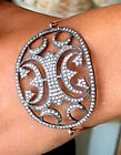Victorian 4.86ct Rose Cut Diamond Halloween Wedding Bracelet