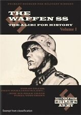 Voices From Hitler's Army - The Waffen SS : The Alibi For History (DVD, 2011)