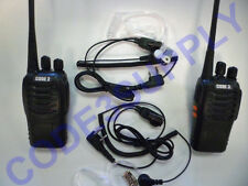 School Security Store Church Bar Radio Walkie Talkie Package & Headset Ear Piece
