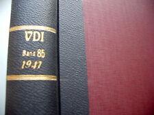 VDI Zeitschrift des Vereines deutscher Ingenieure 62/I