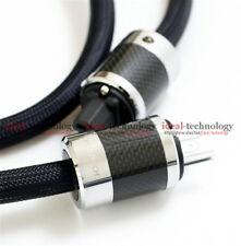 FURUTECH PS-950-18 carbon fiber plug Alpha-OCC Power Cable 1.5M