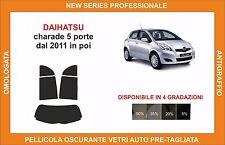 pellicola oscurante vetri dahiatsu CHARADE 5 P DAL 2011 kit posteriore