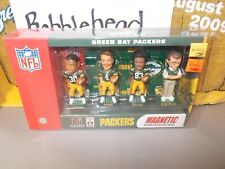 NIB 2002 GREEN BAY PACKERS BOBBLEHEAD MINI BOBS FAVRE GREEN GLENN SHERMAN