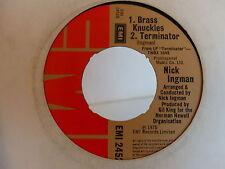 NICK INGMAN Brass knuckles / terminator / american pie EMI2452