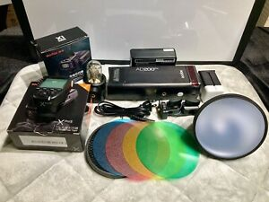 EXCELLENT Godox AD200Pro 200ws HSS 1/8000 Flash + Godox SONY Trigger. Mint!!!