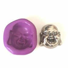 Laughing Buddha Silicone Mould 30mm - Sugarpaste  Fimo Cupcake Toppers