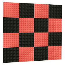 Acoustic Foam Tiles Soundproof Wall Panels Room Sound Absorption 30x30x5cm