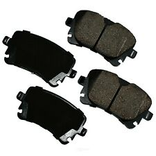 Disc Brake Pad Set-Euro Ultra Premium Ceramic Pads Rear Akebono EUR1018
