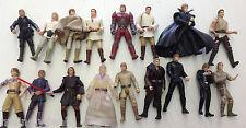 Vintage Kenner Hasbro Star Wars Luke / Anakin Skywalker Figure Lot Of 17
