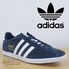 new products 68f33 8612c Adidas Gazelle OG 1 Lace up Retro Classic Fashion Casual Red Black Blue  Trainers