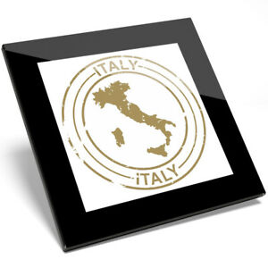1 x Beautiful Republic Of Italy Glass Coaster - Kitchen Student Cool Gift #9209
