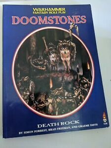 Warhammer fantasy roleplay Doomstones