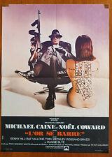 THE ITALIAN JOB (1969) Rare Original Small French Movie Poster