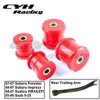 Polyurethane Rear Trailing Arm Bushing Insert Kits For Subaru WRX/Impreza 94-07
