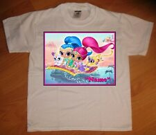 Shimmer And Shine Custom Personaliz E Birthday Party Favor Gift T Shirt