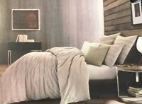 Kenneth Cole New York Thompson Full/ Queen Duvet Cover 92'x 96' in Gray Stone