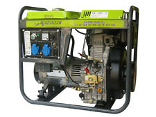 GENERADOR ELECTRICO DIESEL 5.0KW, 2 x 230V, 1 x 12VDC