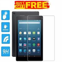 """2PC REAL Tempered Glass Screen Protector AMAZON KINDLE FIRE HD8""""2018 BUY 1 GET 2"""