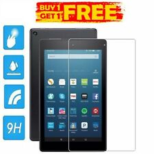 "2PC REAL Tempered Glass Screen Protector AMAZON KINDLE FIRE HD8""2018 BUY 1 GET 2"