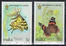 Malta postfris 1993 MNH 914-915 - Jaar van de Ouderen / Butterflies