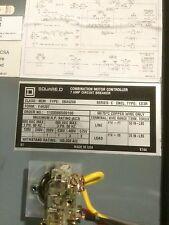 8539SBA52S8 Square D Combination Starter Nema 3R/12 Size 0 CPT HOA MCP