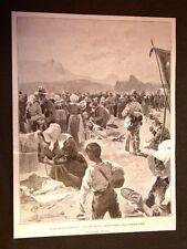Guerra nel Transvaal nel 1901 Campo di concentramento delle famiglie boere