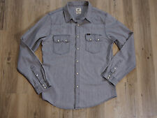 Lee Rider Shirt/ Hemd Gr. Large Westernhemd GUTER ZUSTAND