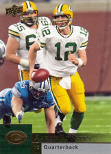 2009 Upper Deck Football Aaron Rodgers Quarterback Green Bay Packers card #73