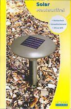 Solar Maulwurffrei und Wühlmäuse Umweltfreundliche Maulwurfschreck Neu OVP