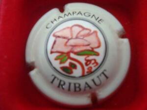 Capsules de champagne TRIBAUT Rose peinte à la main par SB