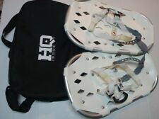 """Hq Issue Youth Winter Snowshoes Snow-Shoe Company 18""""x11"""" in Cloth Carry-Bag"""