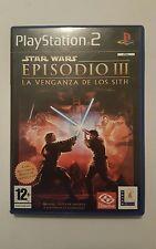 Star wars Episodio III la venganza de los Sith para ps2 en español