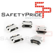 3x Conector USB Micro B Hembra SMD - FEMALE MICRO USB SOCKET CONNECTOR SMD