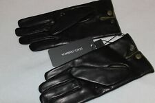 Dolce & Gabbana Men's Lambskin Leather W/ Cashmere Lining Gloves NWT Size 9 $895