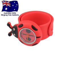 Cute Cartoon Animals Lady Bug Quartz Wrist Watches Boys Girls Kids Baby