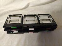 15 Empty Polaroid 600 Film Cartidges for Parts