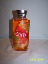 Bath & Body Works Sensual Amber Shower Gel (New)