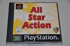 Playstation 1 Spiel - All Star Action - 12 Spiele - Sport - 2 CDs - komplett PS1