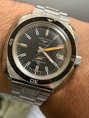 Reloj colección Vintage LONGINES DIVER'S ULTRA CHRON DATE Cal.431  SWISS MADE