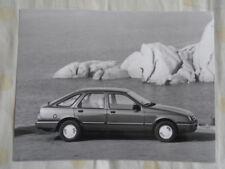 Ford Sierra press photo Sep 1982 German text v6