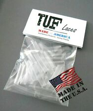 Shoelace Repair Aglets Strong Clear PVC Tips Repair Replace Lace Ends wholesale